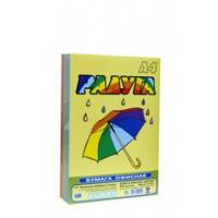 Бумага цветная Радуга - А4 - 500 листов - 5 цветов