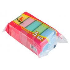 Губки для мытья посуды Perfecto Linea - 5 шт -