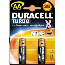 Батарейка Duracell Turbo MN1500 - 1.5 В - АА - 2BP - LR6 - 2 штуки