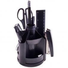 Набор настольный Mini Desk - Пластик - Черный - С канцтоварами