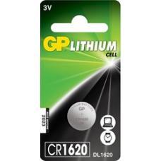 Батарейка литиевая GP - CR1620 - 1 шт