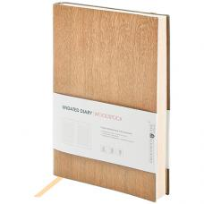 Ежедневник OfficeSpace Woodstock - А5 - Недатированный - 136 листов - Бежевый