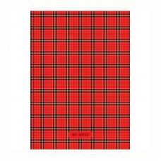 Бизнес-блокнот OfficeSpace Шотландка - А4 - 120 листов