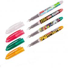 Ручка перьевая Luxor Ink Glide - 0.8 мм - Черная