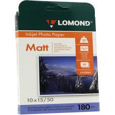 Фотобумага Lomond - А6 - Матовая - Односторонняя - 180 г/ кв. м - 50 листов