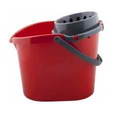 Ведро Drina - Пластик - 10 литров - С отжимом - Ассорти