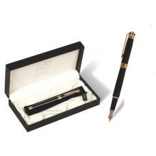 Ручка перо подарочная  Picasso - В футляре - Черная
