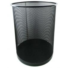 Корзина для бумаг металлическая HORER - Сетчатая - Черная