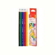 Набор карандашей Deli - 6 цветов