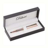Ручка шариковая подарочная Delucci Legato - Подарочная упаковка - Медь
