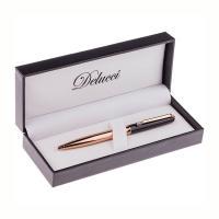 Ручка шариковая подарочная Delucci Evento - Подарочная упаковка - Черный/Золото