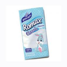 Платочки бумажные Romax - 3 слоя - 10 штук