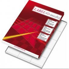 Наклейки Labelmedia - А4 - 105*37 мм - 100 листов