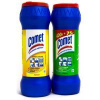 Чистящий порошок с хлоринолом Comet Двойной эффект - 475 г