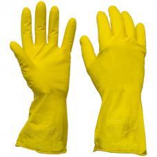 Перчатки хозяйственные - резиновые - размер L